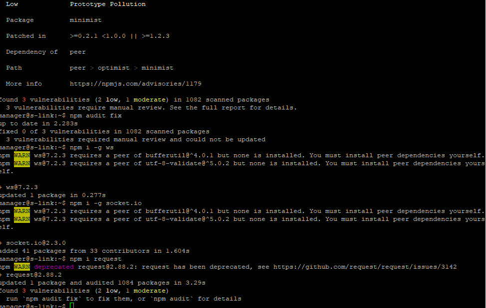 Peer Dependency Warning When Installing Vue 2